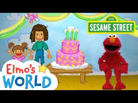 Sesame Street: Birthdays   Elmo's World