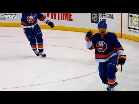 Video: Islanders score 4 goals on 5 minute power play against Red Wings