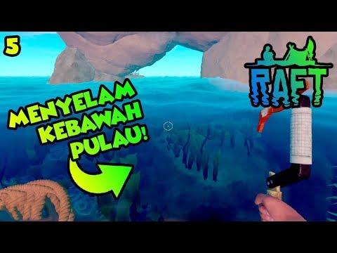 PENCARIAN SEKREP PEMBAWA SIAL! NGAKAK!! 🤣 : Raft Indonesia Survival   Ep.5