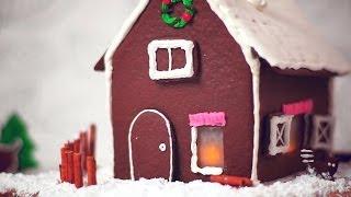 Gemberkoekhuis voor Kerst