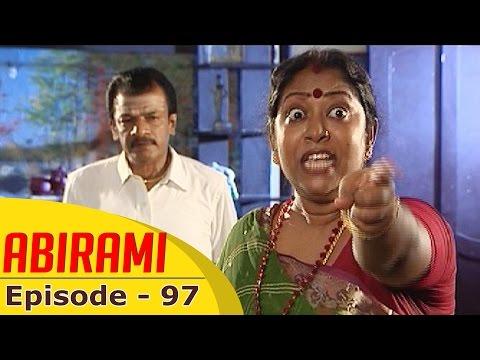 Abirami-Epi-97-Tamil-Serial-Gowthami-Kalignar-TV-16-11-2015