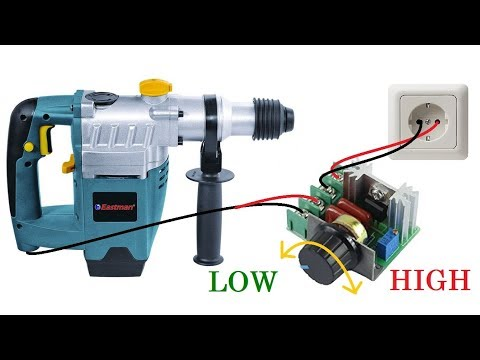 Homemade Speed Control Box for Power tools || RPM Control