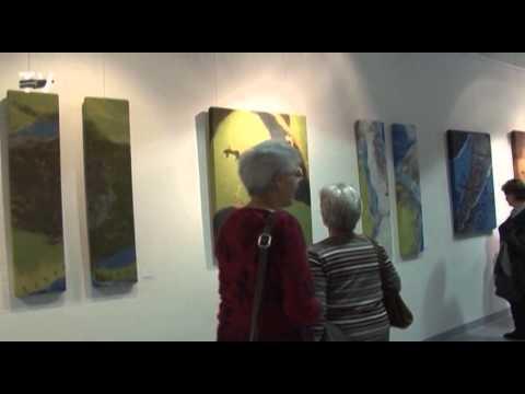 Collagen in Filz — eine Ausstellung von byanna, Kerstin Globig