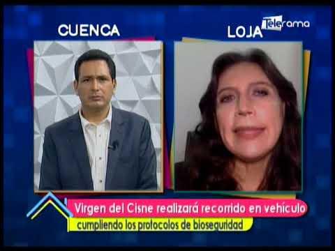 Virgen del Cisne realizará recorrido en vehículo cumpliendo los protocolos de bioseguridad