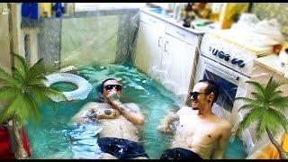 Лайфхак, как сделать бассейн на кухне своей квартиры