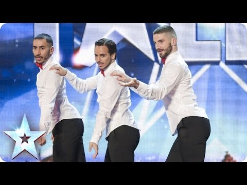 marshall - See more from Britain's Got Talent at http://itv.com/talent Male dancers Yannis, Arnaud and Mehdi audition with a girl power high-heeled routine. Will it be ...