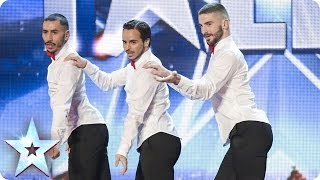 Video Yanis Marshall, Arnaud and Mehdi in their high heels spice up the stage | Britain's Got Talent 2014 MP3, 3GP, MP4, WEBM, AVI, FLV Juli 2018