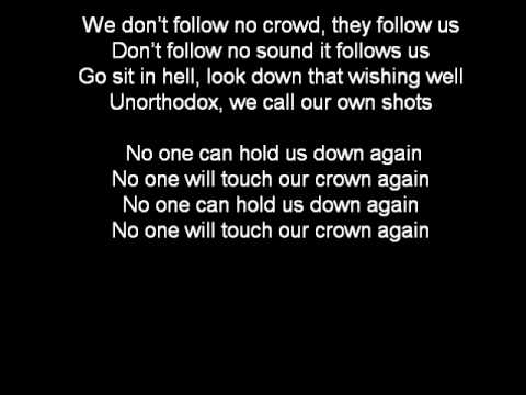 Wretch 32 feat. Example - Unorthodox Lyrics On Screen