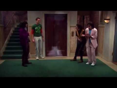the big bang theory 3x22 - l' ascensore