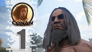 Let's Begin! - EP01 - CONAN EXILES (Removing The Bracelet)