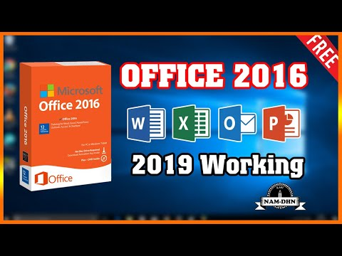 Microsoft Office 2016 Activation Forever | Fast And Easy 2019 ✔