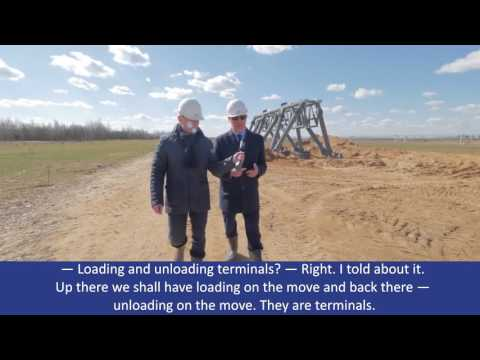 Virtual Tour of SkyWay Cargo Line Together With Anatoly Yunitskiy
