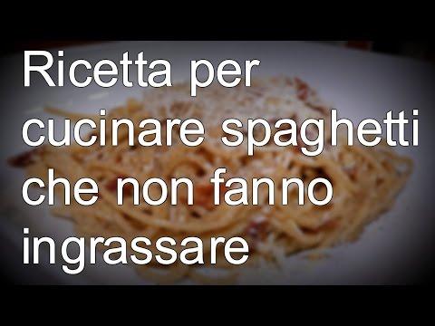 spaghetti, una ricetta per non ingrassare