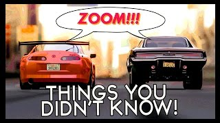 7 Things You (Probably) Didn't Know About The Fast&Furious