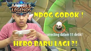 Video HERO BARU NDOG GODOK ! - Mobile Legends Indonesia MP3, 3GP, MP4, WEBM, AVI, FLV Oktober 2017