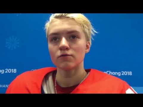 Виктория Кулишова после игры со сборной Канады
