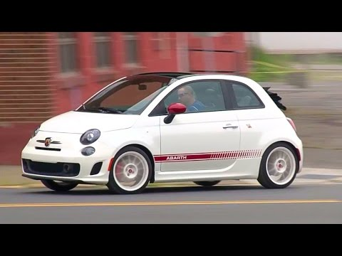 2014 Fiat 500c Abarth – TestDriveNow.com Review by Auto Critic Steve Hammes