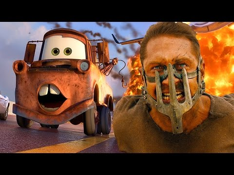 CARS Mad Max Fury Road Style