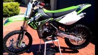 8. 2011 kx 85cc walk around and start up