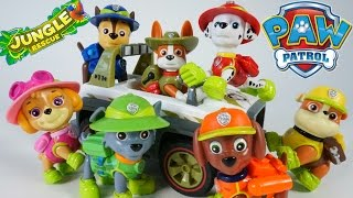 Video PAW PATROL NEW PUP TRACKER JUNGLE RESCUE VEHICLES CHASE MARSHALL SKYE MP3, 3GP, MP4, WEBM, AVI, FLV Oktober 2018