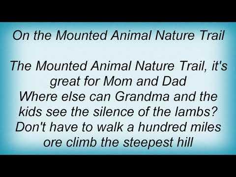 Arrogant Worms - Mounted Animal Nature Trail Lyrics (видео)