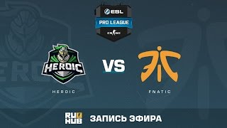 Heroic vs. fnatic - ESL Pro League S5 - de_train [Enkanis, yxo]