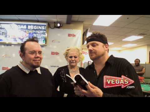 Las Vegas Celebrities The Amazing Johnathan and Psychic Tania