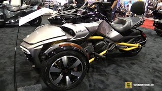 10. 2017 Can Am Spyder F3 S - Walkaround - 2016 AIMExpo Orlando