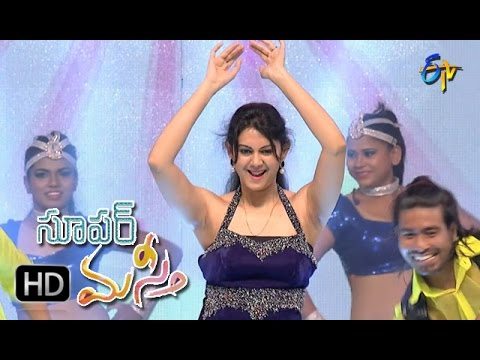 Kamna Jethmalani Dance Performance | Super Masti | Parchur | 30th April 2017 | ETV Telugu