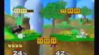 Why stages with walkoffs are banned (Zelgadis (Fox) vs Eddie (Ganon)