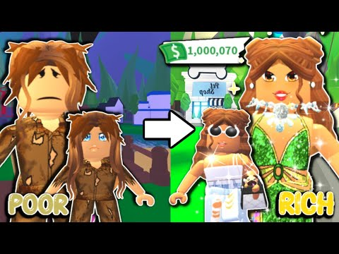 Adopt Me Moms: Poor To Rich Lottery Winner(Roblox Adopt Me Story)