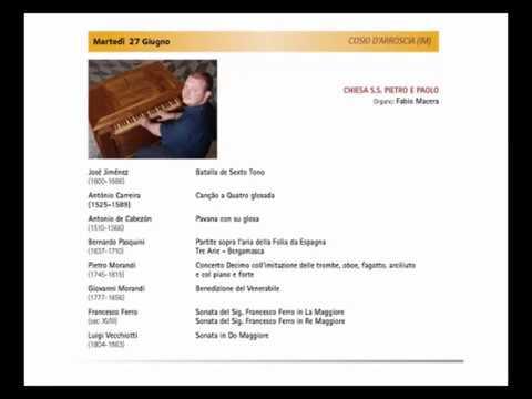 COSIO D' ARROSCIA : MARTEDI 27 GIUGNO VALLI IN MUSICA