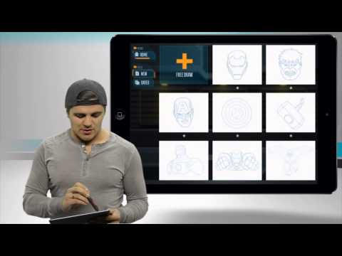 stateoftech - Marvel Creativity Studio Deluxe STYLUS iPad App Demo - State of Tech from State of Tech. Like this? Watch the latest episode of State of Tech on Blip! http:/...
