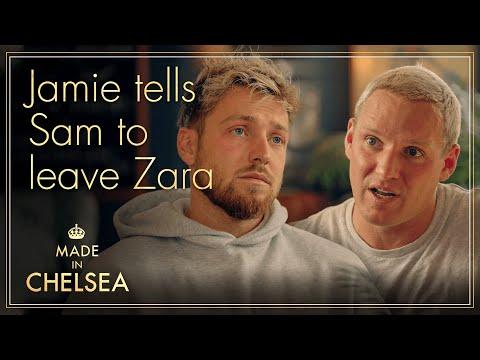 Jamie tells Sam to LEAVE Zara | Made in Chelsea