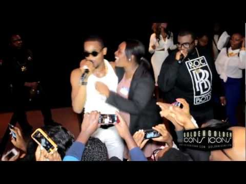 0 Video: Dbanj and Kenya Moore On stage dbanj