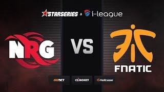 [RU] NRG vs fnatic | Map 2 – Nuke | StarSeries i-League Season 7