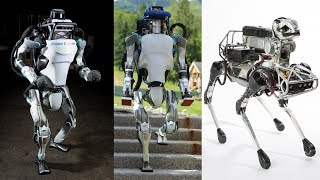 Video 9 Advanced Robots From Boston Dynamics Will Change The Jobs Of Humans || Boston Dynamics Robot MP3, 3GP, MP4, WEBM, AVI, FLV Agustus 2018
