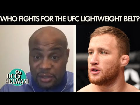 What should the UFC do with the lightweight title? | DC & Helwani | ESPN MMA