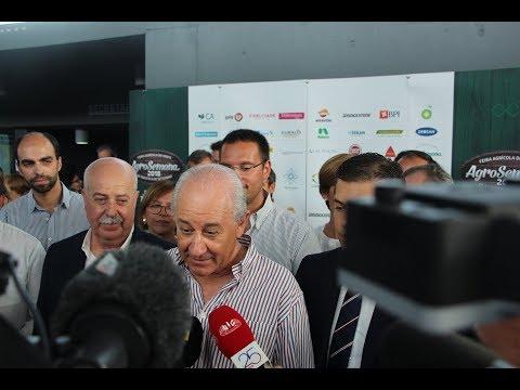 Declarações de Rui Rio em visita à AgroSemana