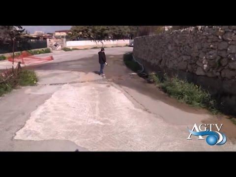 Spreco d'acqua a S. Leone