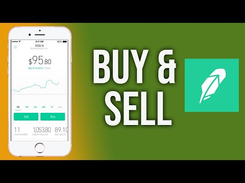 Robinhood App - How To Buy and Sell Stocks on the Robinhood App in Real-Time