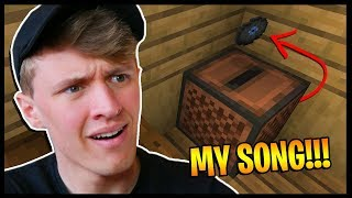 THEY PUT MY SONGS IN MINECRAFT!?