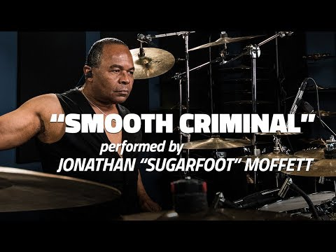 "Michael Jackson's Drummer Jonathan Moffett Performs ""Smooth Criminal"""
