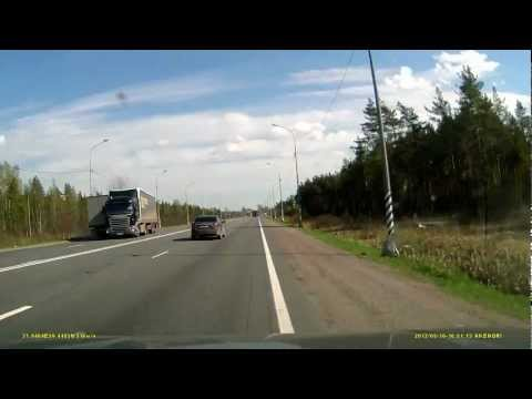 Водитель фуру заснул за рулём