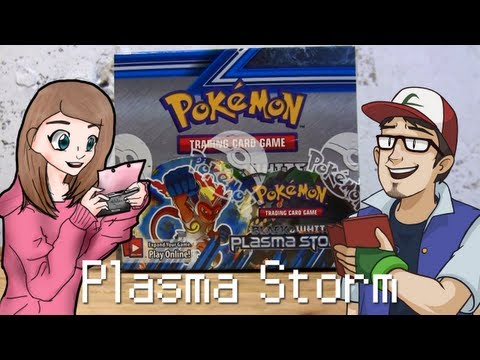 Opening a Pokemon Plasma Storm Booster Box with JWittz