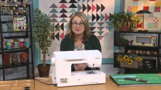 My First Quilt - Episode 5 - Sewing Machine Basics