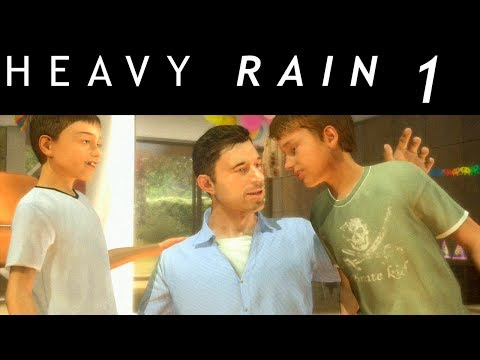 "Heavy Rain Walkthrough Part 1 Of 21 No Commentary Gameplay ""Heavy Rain Walkthrough"""