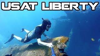 USAT Liberty Wreck | Freediving, Tulamben Bali | GoPro 48fps