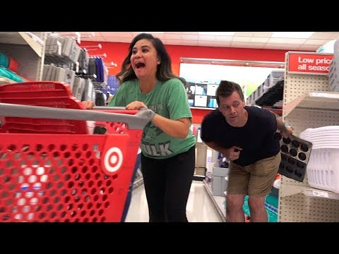 Farting with really LONG FARTS at Target