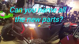 10. 2019 Polaris RZR XP1000 gets accessorie bolt ons
